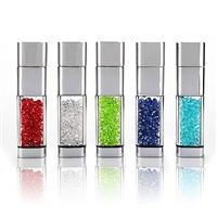 LED Crystal USB Drive