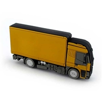 Yellow Truck USB Drive