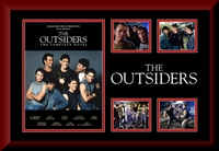 The Outsiders Movie Collage Framed