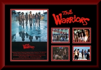 The Warriors Movie Collage Framed