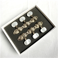 "Schaller ""Hauser Style"" Nickel Plated Tuning Machines For Selmer-Maccaferri Guitars"