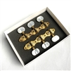 "Schaller ""Hauser Style"" Gold Plated Tuning Machines For Selmer-Maccaferri Guitars"
