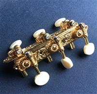 Altamira Gypsy Jazz Deluxe Gold Plated Tuning Machines