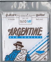Argentine Gypsy Jazz Guitar Strings :1610 MF Ball End (Savarez)