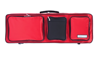 BAM PERFORMANCE Violin Case - (CRANBERRY RED)