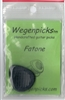 Wegen Fatone Gypsy Jazz Guitar Pick (5mm) (BLACK)