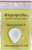 The Original Wegen Gypsy Jazz Guitar Pick (3.5mm) (WHITE)