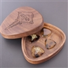 Special Edition DjangoGuitars Walnut Pick Box