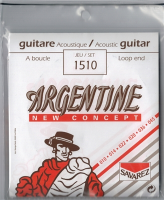 BULK DISCOUNT Argentine Gypsy Jazz Guitar Strings (5 sets): 1510 Loop End (Savarez)