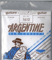 BULK Argentine Gypsy Jazz Guitar Strings (5 sets):1610 Ball End (Savarez)