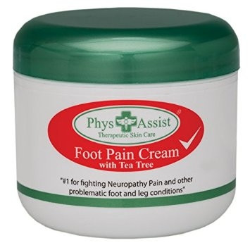 PhysAssist Natural Foot Cream