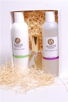 Cologne, Shower Gel, Lotion for Women Gift Set