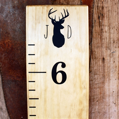 Add-On Monogrammed Deer Icon Top Header
