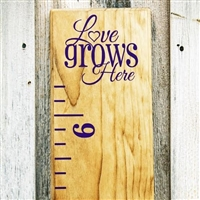 "Add-On ""Love Grows Here"" Top Header"