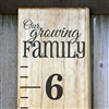 "Add-On ""Our Growing Family"" Top Header"