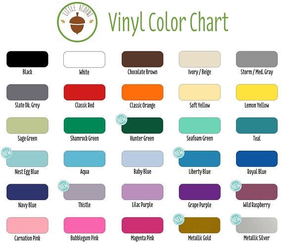 DIY Vinyl Growth Chart Kit - Ruler growth chart vinyl decal