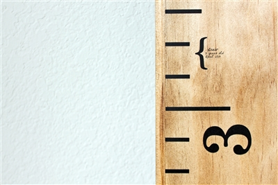 Height Markers - Vinyl Mini Brackets