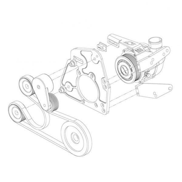 Kraftwerks C38 91 Supercharger Race Kit For 1990 2001 Hondaacura