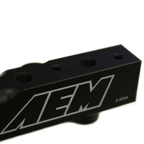 AEM High Volume Fuel Rail Honda Prelude Accord H22 H23 25-104BK
