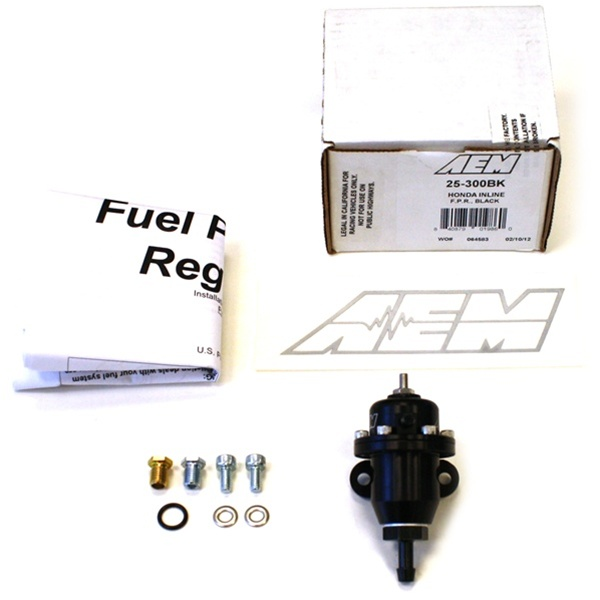 AEM Adjustable Fuel Pressure Regulator Kit For The 1994
