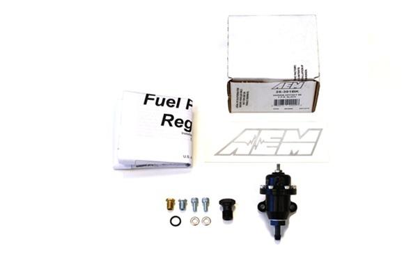 AEM ELECTRONICS 25-301BK Fuel Pressure Regulator for Acura CL /& Honda Accord