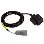 AEM CD Dash Display Plug-and-Play Adapter Harness for OBDII Interface