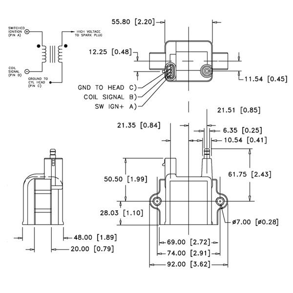 Aem High Output Inductive  U0026quot Dumb U0026quot  Coil