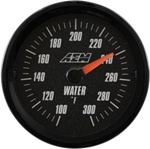 AEM Analog Coolant/Water Temperature Display Gauge (100°F to 300°F) - Black Face