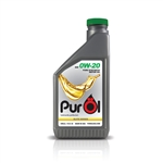 PurÖl Elite Synthetic Motor Oil 0W20, 1-Liter Bottle