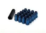 Muteki Closed-Ended Lightweight Lug Nuts in Blue - 12x1.25mm