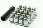 Muteki Closed-Ended Lightweight Lug Nuts in Chrome - 12x1.50mm