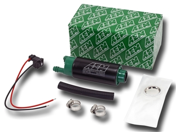 AEM High Flow 320LPH E85 In-Tank Fuel Pump Center Inlet