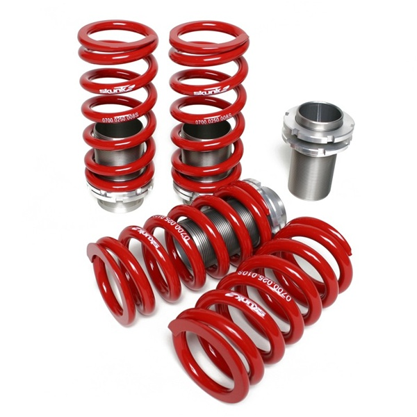 Skunk Racing Adjustable Coilover Sleeve Kit Acura RSX - Acura rsx coilovers