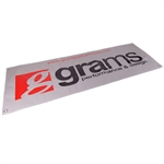 "Grams Performance 60.0"" x 20.0"" Vinyl Shop Banner"