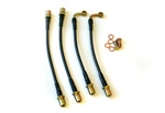 Agency Power Rear Steel Braided Brake Lines Subaru Legacy 2.5GT 05-09