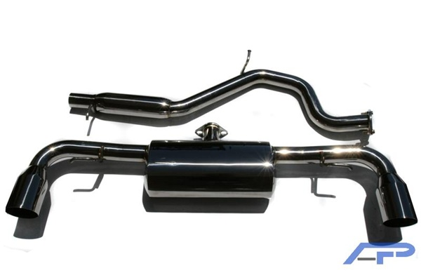 Agency Power Catback Exhaust System For The 2008 2009 Audi Tt 32