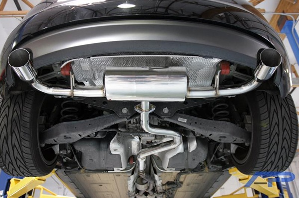Agency Power Catback Exhaust System For The 2008 2009 Audi Tt 32l