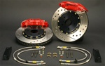 Brake Pros 4-Piston Caliper Upgrade Kit for the 2001-2006 BMW M3 E46 incl. CSL (Disc not included) - 328mm Rear
