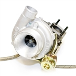 ATP Turbo GT3076R Bolt-on Turbocharger Kit 2007-2013 Mazdaspeed 3 - Stock Location; Internal Wastegate - 500 hp
