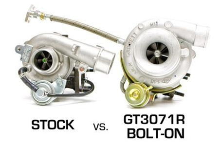 ATP Turbo GT3076R Bolt On Turbocharger Kit 2007 2013 Mazdaspeed 3   Stock  Location; Internal Wastegate   500 Hp