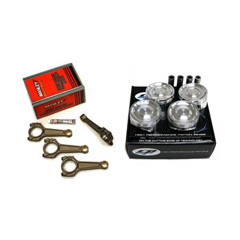 CP Pistons / Manley Turbo-Tuff I-Beam Connecting Rods Package - Subaru EJ257 w/ 83mm Stroke Crankshaft