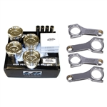 CP Pistons / Manley H-TUFF Connecting Rods Package - Subaru FA20 / Toyota 4U-GSE