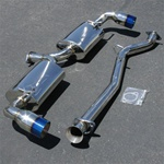Boombop Catback Exhaust System with Titanium Tip for the 2004-2011 Mazda RX-8
