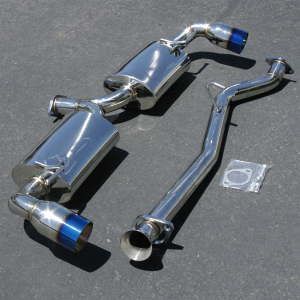 Boombop Catback Exhaust System With Titanium Tip For The 20042011 Mazda Rx8: Rx8 Full Exhaust System At Woreks.co