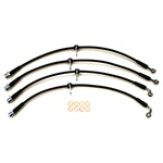 Boombop Braided Stainless Steel Brake Lines for 2013+ Subaru BRZ, Scion FR-S