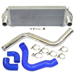 Boombop Front Mount Intercooler Kit for 2013-2018 Ford Focus ST, Blue