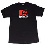 Grams Performance Classic Logo T- Shirt (Black, Large)