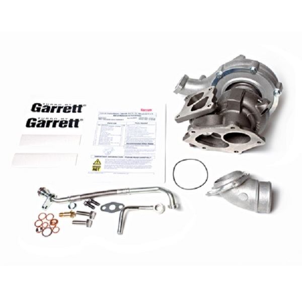 Garrett Dual Ball Bearing Twin-scroll GTX3076R Bolt-on Turbocharger Kit for  2008-2015 Mitsubishi Lancer Evolution X