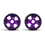Golden Eagle Billet Adjustable Cam Gears Set for 1990-2001 Honda/Acura B16, B17A, B18A-C, H23A1, Purple