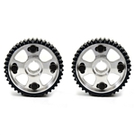 Golden Eagle Billet Adjustable Cam Gears Set for 1992-2001 Honda H22A1/H22A4/F20B, Machined